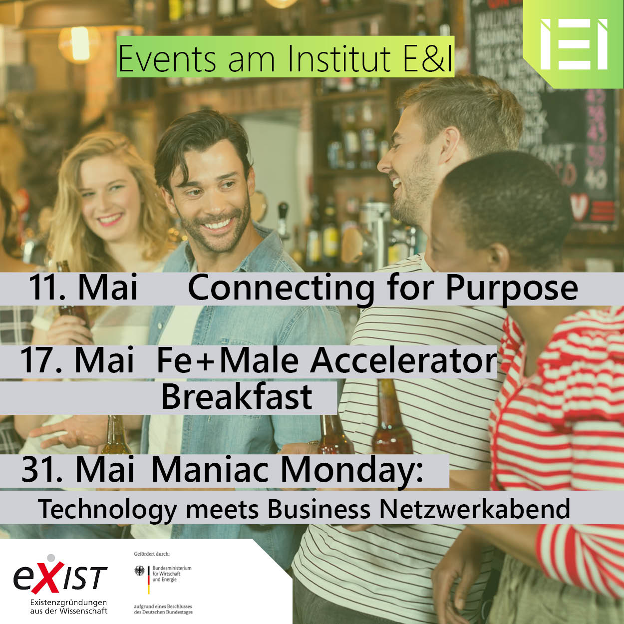 Events des Instituts E&I